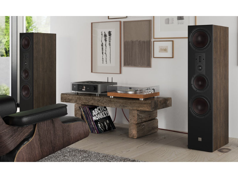 Dali Opticon 8 MK2 Speakers Tobacco Oak
