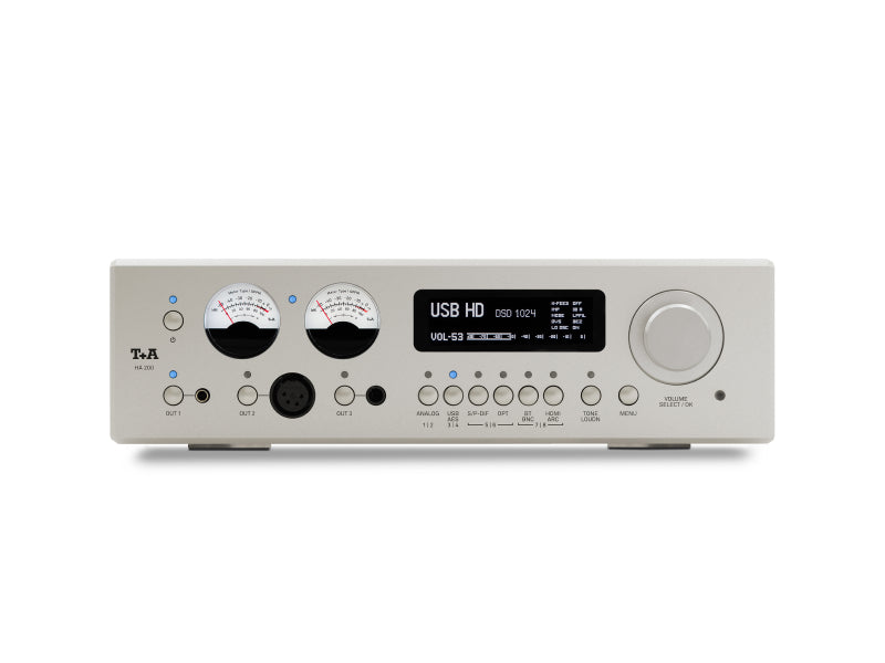 T+A HA 200 Headphone Amplifier Silver