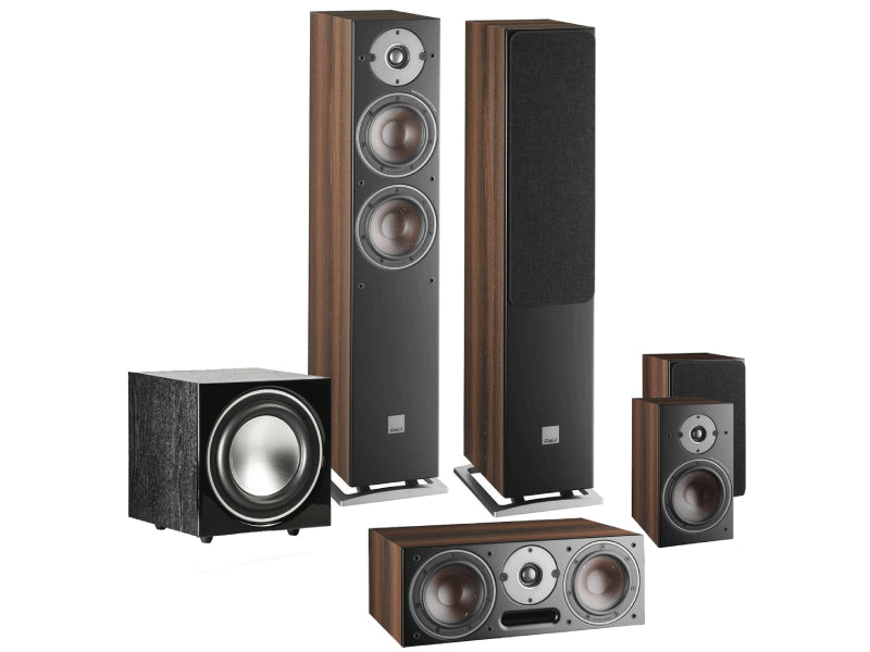 Dali Oberon 5 AV 5.1 Speaker System with E9F Sub