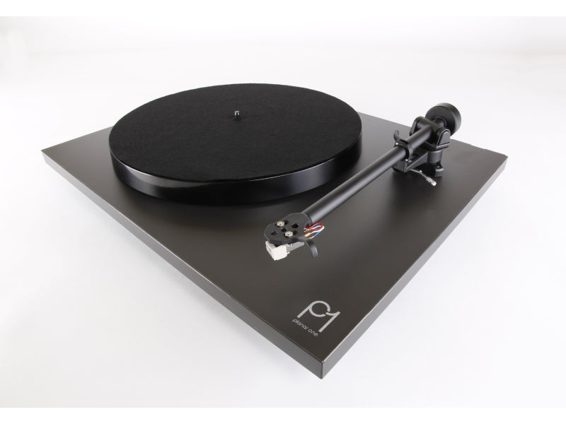 Rega Planar 1 Turntable Matt Black Finish (New 2021 Version)