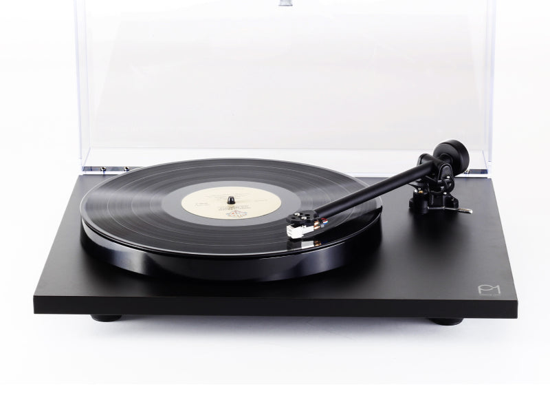Rega Planar 1 Plus Turntable Matt Black Finish (New 2021 Version)