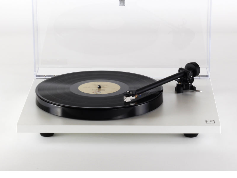 Rega Planar 1 Turntable Matt White Finish (New 2021 Version)