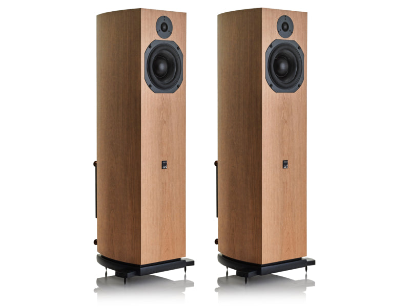 ATC SCM19A Active Loudspeakers Cherry