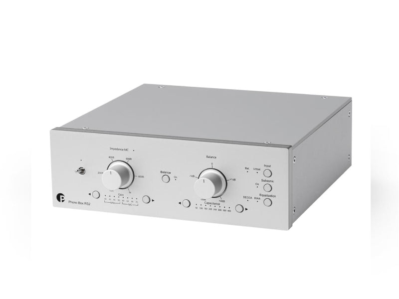 ProJect Phono Box RS2 Phono Stage Silver