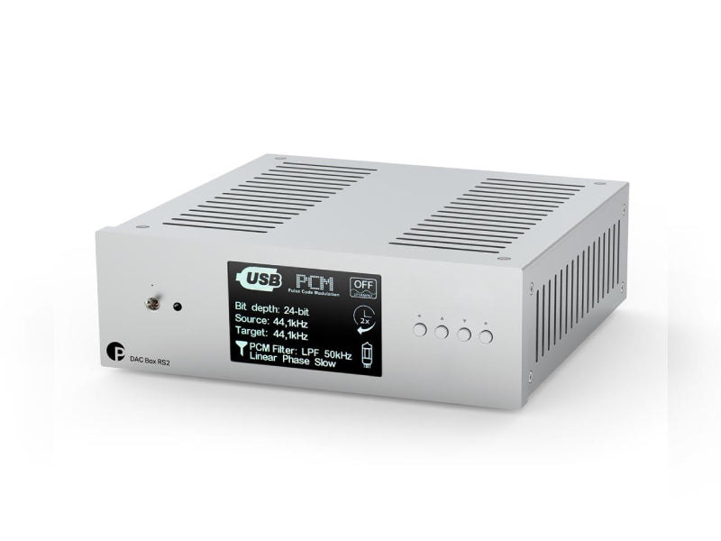 ProJect DAC Box RS2 DAC Silver