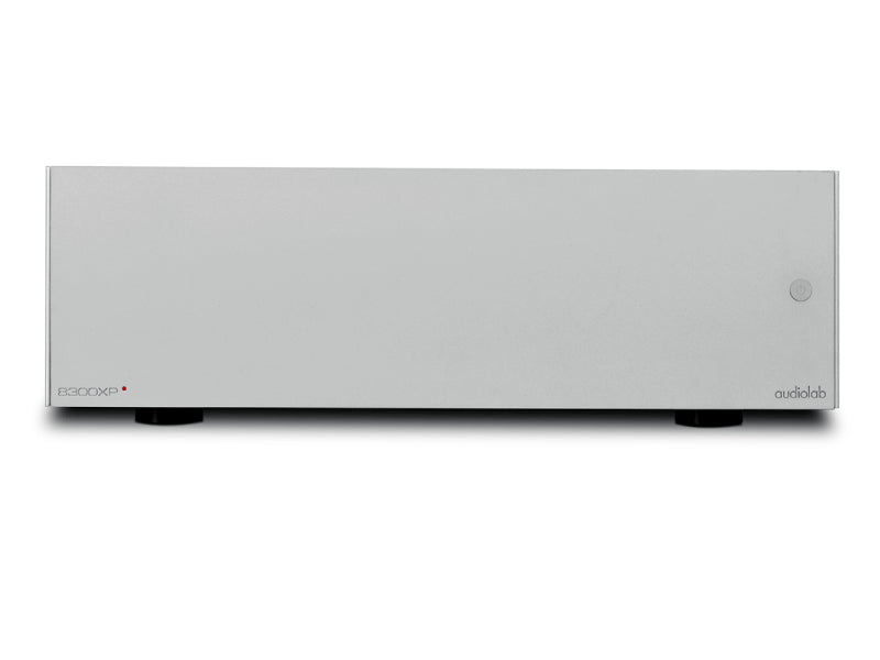 Audiolab 8300XP Power Amplifier Aluminum Silver