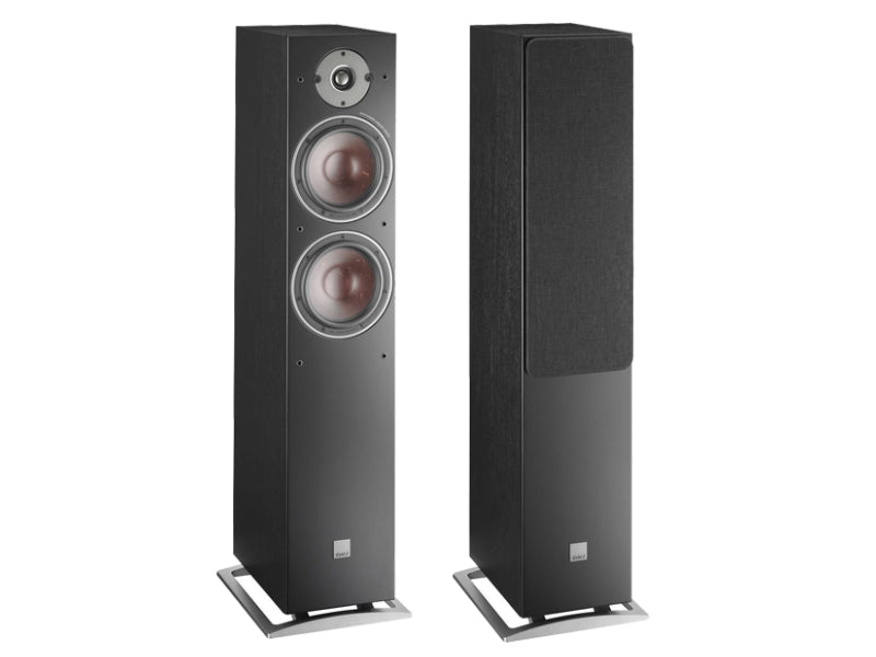 Dali Oberon 7 Floorstanding Speakers - Black Ash