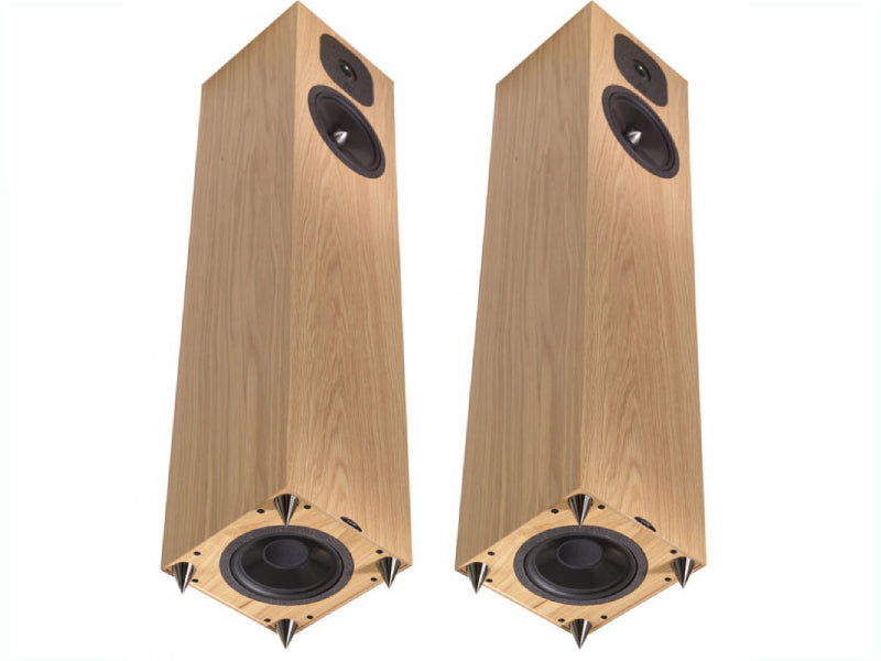 Neat Momentum SX5i Speakers in Oak