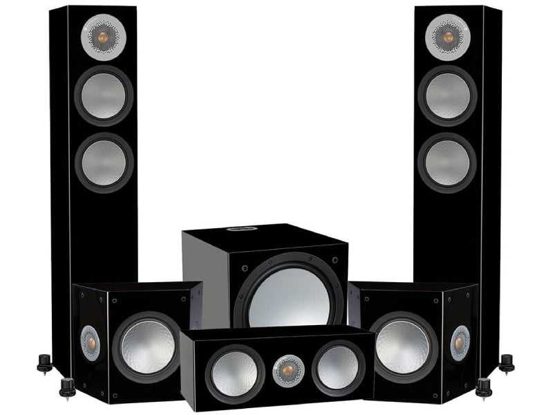 Monitor Audio Silver 200 AV12 5.1 Cinema Speaker Package