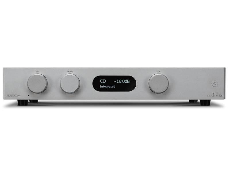 Audiolab 8300A Silver Integrated Amplifier
