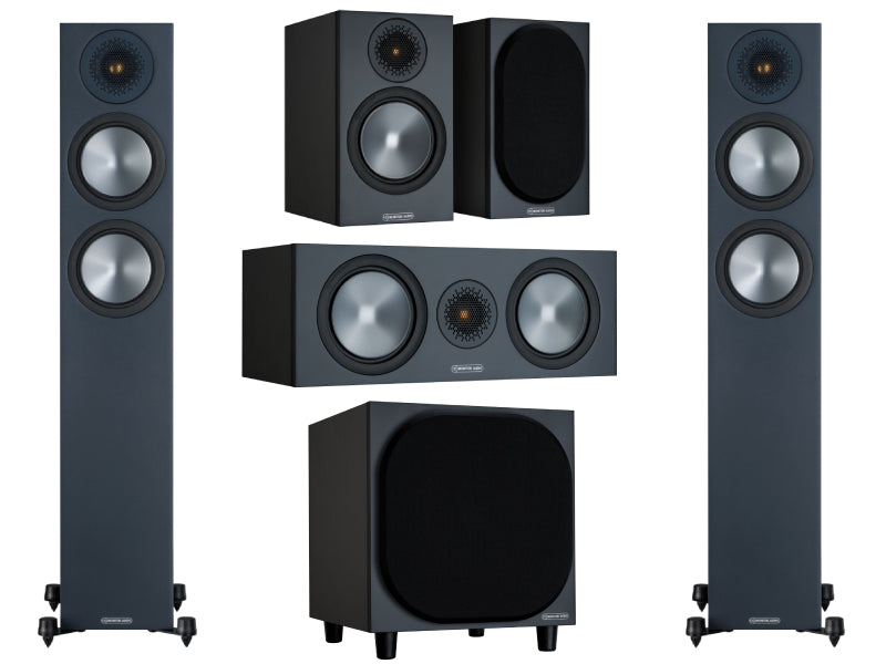 Monitor Audio Bronze 200 5.1 Home Cinema Speaker Pack