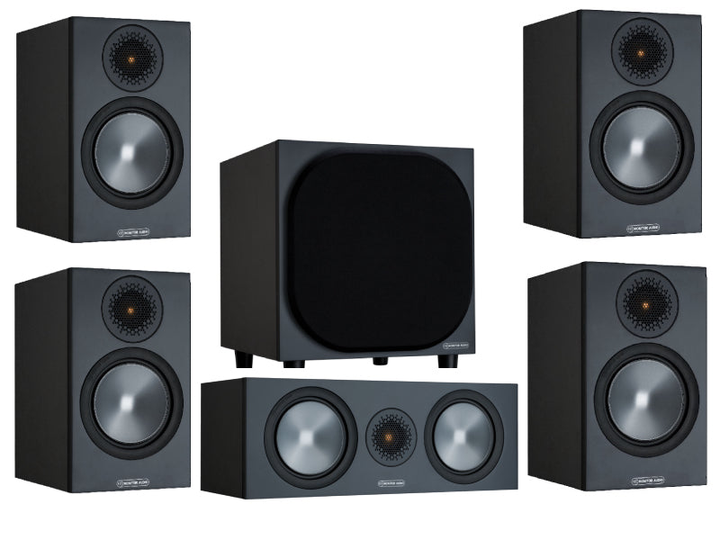 Monitor Audio Bronze 50 AV 5.1 Home Cinema Speaker Pack (Bronze 50 Rears)