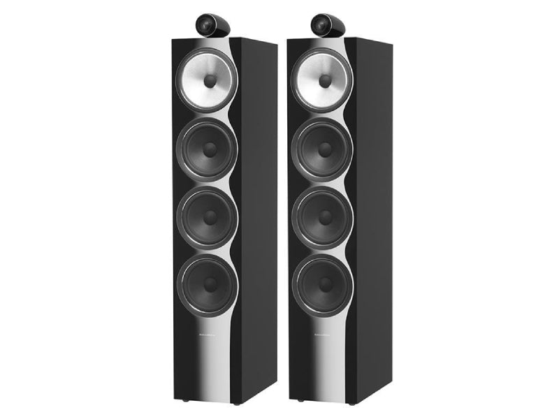 B&W 702 S2 Speakers Gloss Black