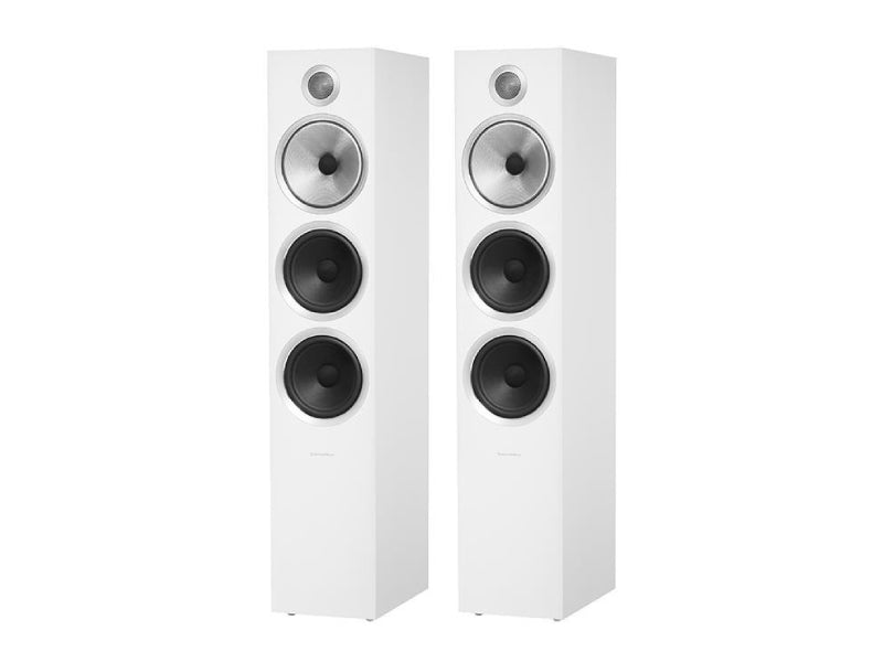 B&W 703 S2 Speakers Satin White