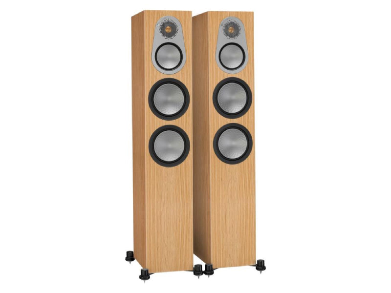 Monitor Audio Silver 300 Speakers Oak