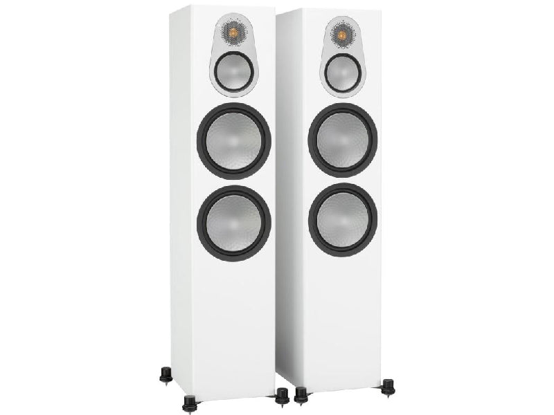 Monitor Audio Silver 500 Speakers Gloss White