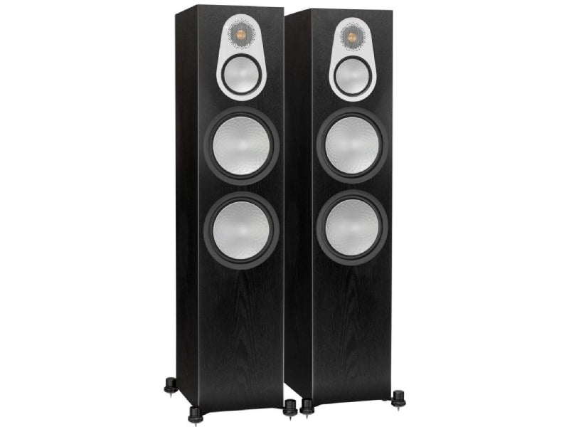 Monitor Audio Silver 500 Speakers Black Oak