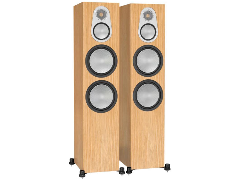 Monitor Audio Silver 500 Speakers Oak