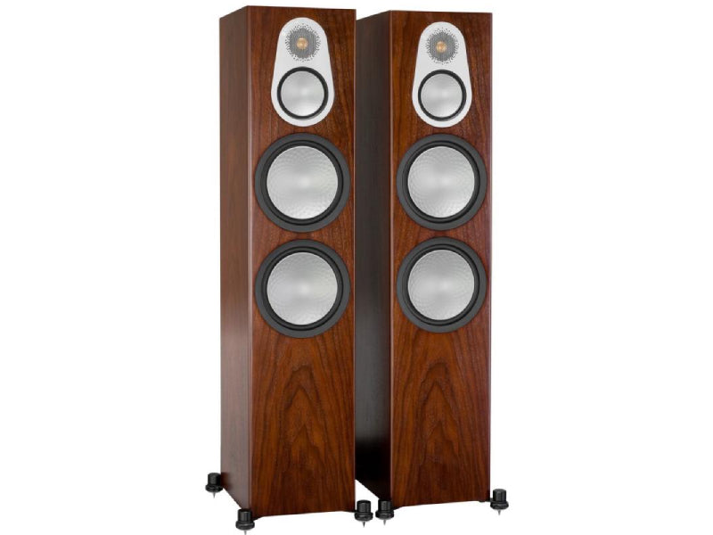 Monitor Audio Silver 500 Speakers Walnut