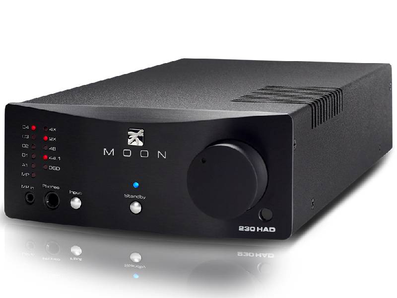 Moon 230HAD Headphone Amplifier and DAC