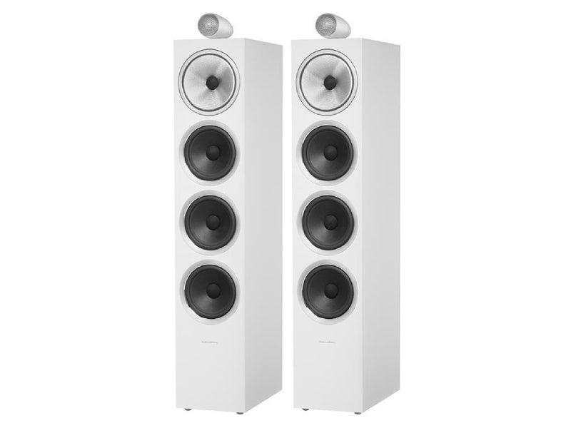 B&W 702 S2 Speakers Satin White