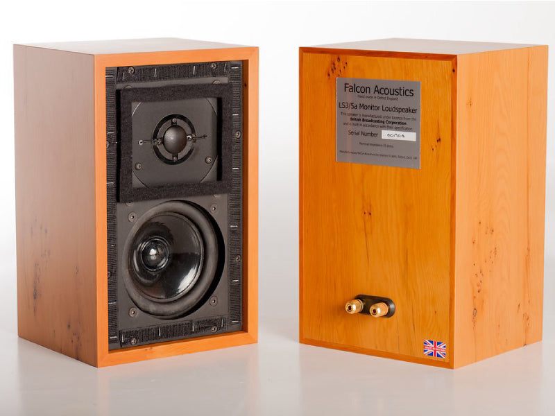 Falcon Acoustics BBC LS3/5A Standmount Loudspeakers (opened box)