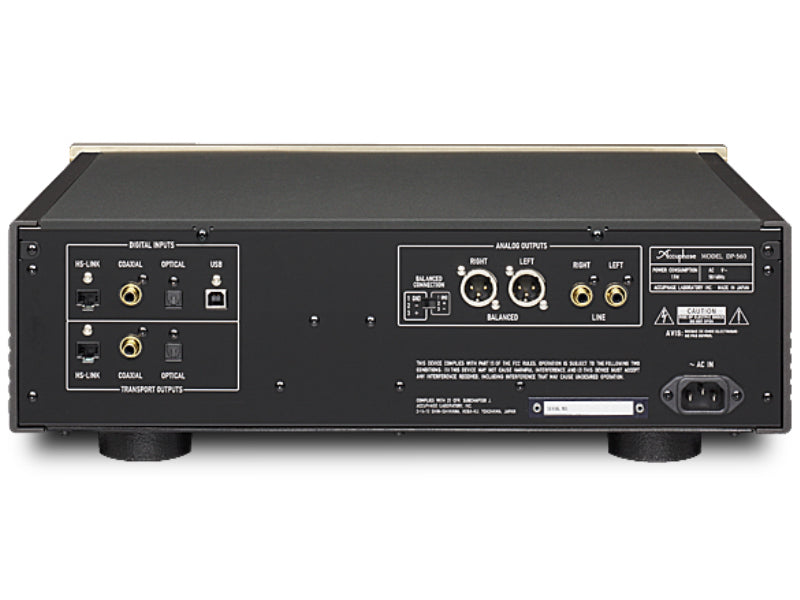 Accuphase DP-560 SA-CD Player / DAC