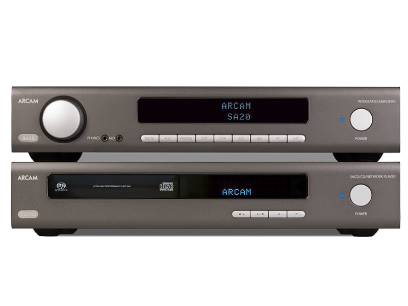 Arcam CDS50 CD/SACD Network Player + SA20 Amp