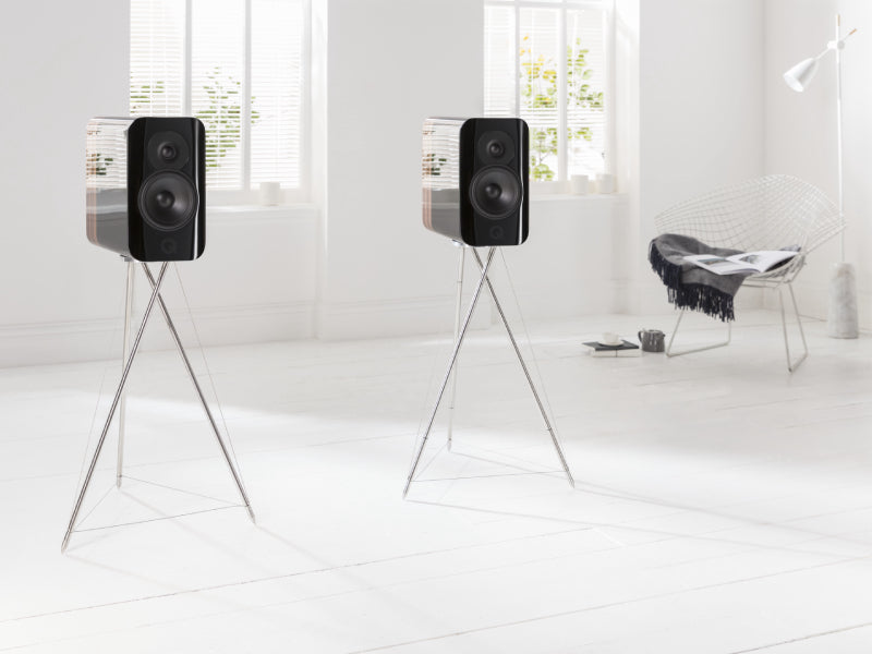 Q Acoustics Concept 300 Speakers with Stands