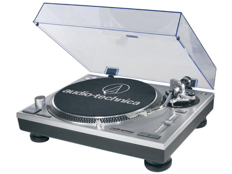 Audio-Technica ATLP120 USB Silver Turntable