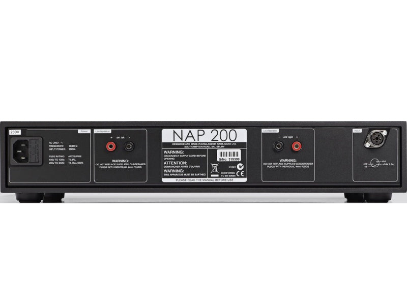 Naim NAP 200 DR Power Amplifier