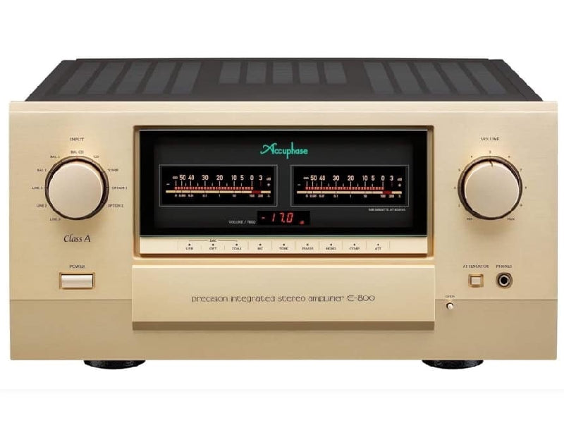 Accuphase E-800 Class A Integrated Amplifier