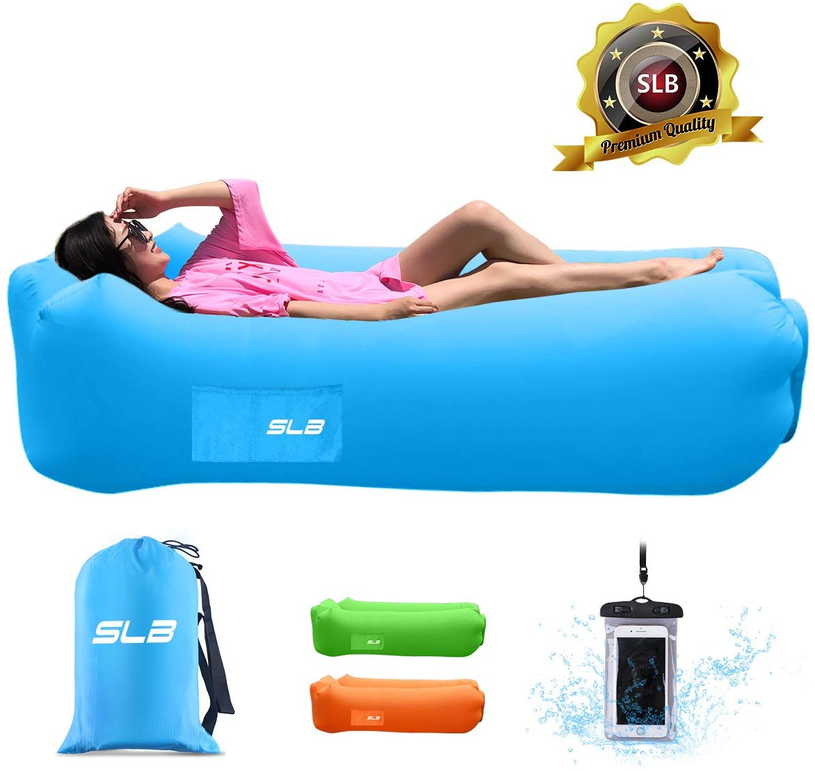 Lazy Lounger Inflatable Air Bed