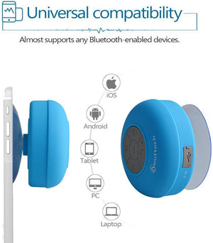 Portable Bluetooth Shower Speaker