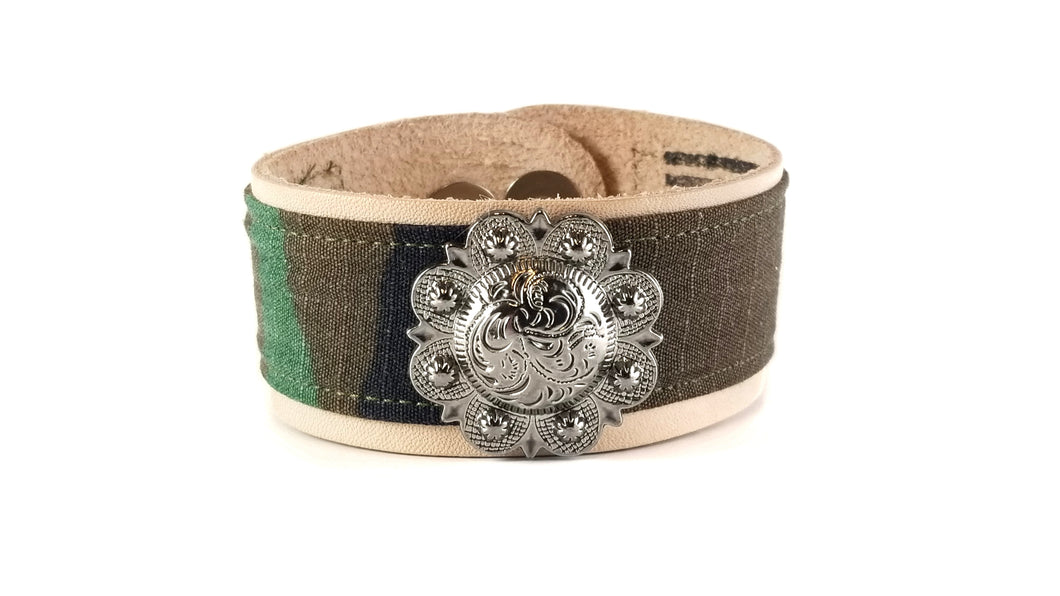 Floral Concho Marines Leather ValorBAND™