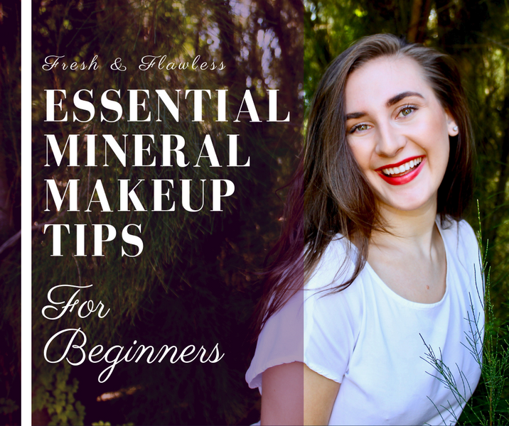 3 Essential Mineral Makeup Tips for Beginners