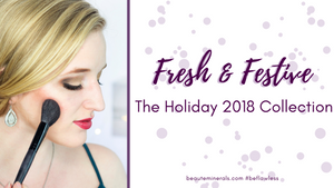 Holiday Makeup Look Using the NEW Fresh & Festive Set