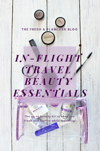 In-Flight Beauty Essentials