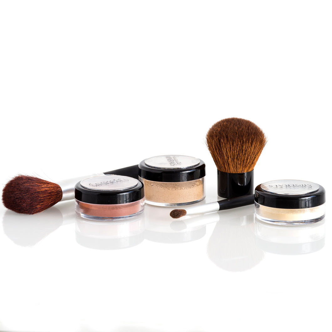 The Basics Kit with Brushes in Medium Cool