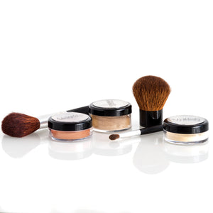 The Basics Kit with Brushes in Medium Dark Cool