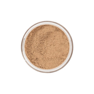 Medium Dark Cool Mineral Foundation - closeup