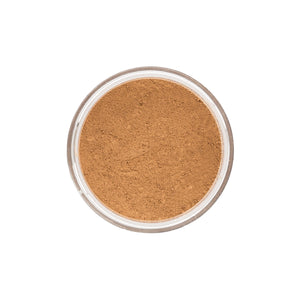 Medium Dark Warm Mineral Foundation - closeup