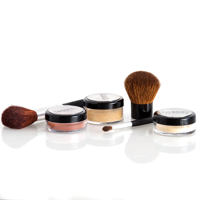 The Basics Kit with Brushes in Medium Warm