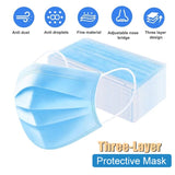 Masque jetable triple protection par Lot de 50 pièces