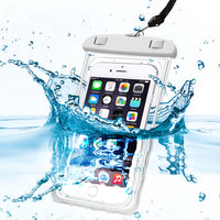 "Housse universelle étanche Waterproof iPhone 5S 6 6S 7 Plus Samsung Xiaomi Redmi 3s Note 3 4 Pro MI5 Cover WaterProof Pouch Max 6"" Phone"