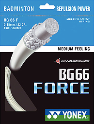 YONEX BG66 Force 0.65mm White