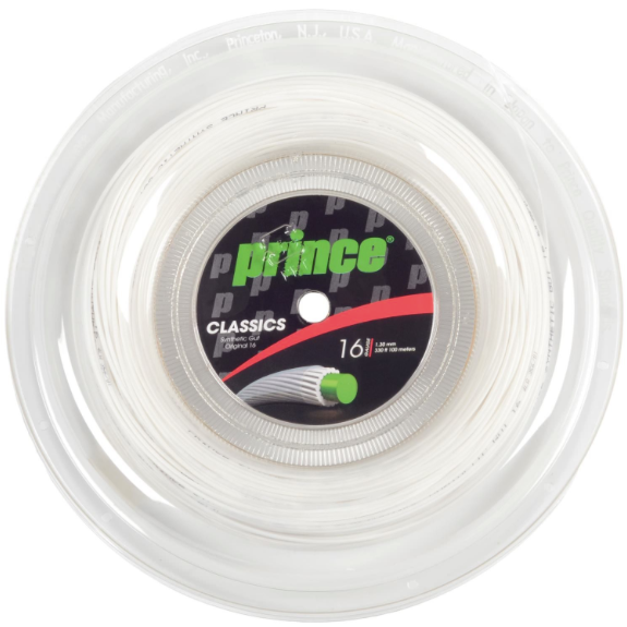 Synthetic Gut Original 16 White (100m Reel)
