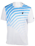 Men's Graphic Crew White/Energy Blue