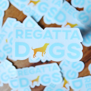 Regatta Dogs Logo Sticker