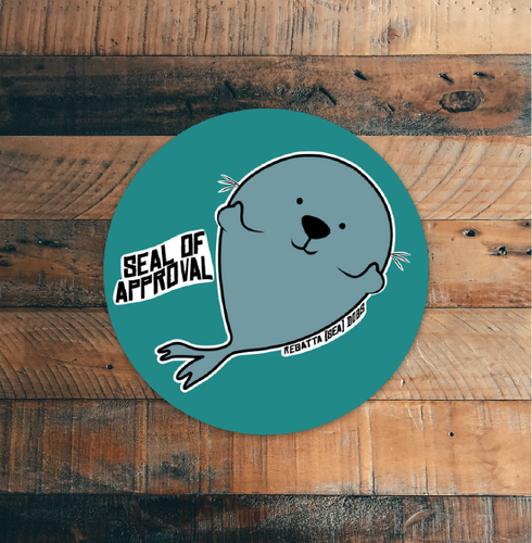Seal of Approval Sticker 3-Pack